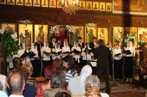 Хор храма в Болгарии на фестивале