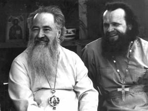 Владыка Ювеналий и протоиерей Анатолий