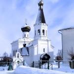 Храм свт. Тихона зимой