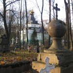 Часовня бл. Ксении на Смоленском кладбище